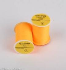 Glo-Brite Neon Floss Amber 8