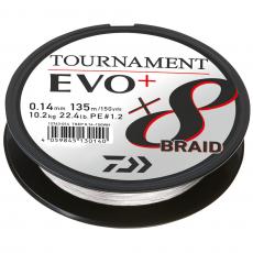 Daiwa Tournament Evo 8+  White 0,10mm 6,7kg 135m