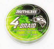 Ruthless 4-Braid Kuitusiima 0,12mm 115m