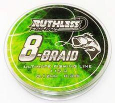 Ruthless 8-Braid Kuitusiima 0,18mm 12,4kg