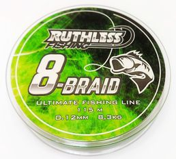 Ruthless 8-Braid Kuitusiima 0,10mm