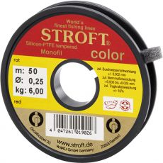 Stroft Monofiisiima 0,28mm 6,7kg Red