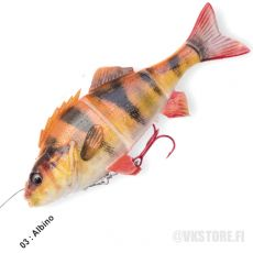 Savage Gear 4D Perch Shad 12,5cm 23g Albino