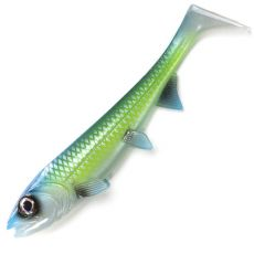 Hostagevalley Shad 14cm 25g Green Attack UV
