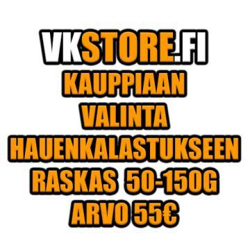 Kauppiaan Valinta Hauenkalastukseen Raskas 55€