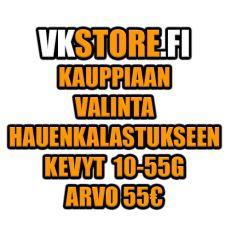 Kauppiaan Valinta Hauenkalastukseen Kevyt 55€