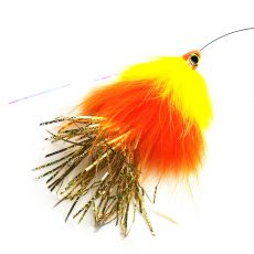 Spintube Pike Slow Sink 35g Kelta Oranssi Kulta