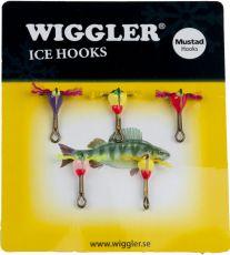 Wiggler Värikoukku Lajitelma #4 5kpl