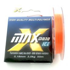 Climax Ice Pilkkisiima Oranssi 0,20mm 3,5kg