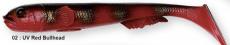 SG 3D Goby Shad 23cm 96g 02-Uv Red Bullhead