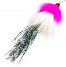 Spintube Pike Fast Sink 45g Pinkki Valko Hopea