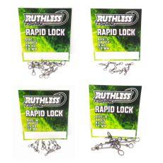 Ruthless Fishing Rapid Lock XL 82kg 6kpl