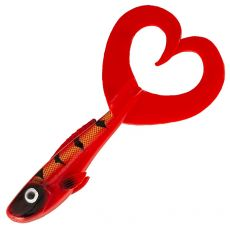 Abu Garcia Beast Twin Tail 17cm 1kpl Red Tiger