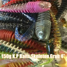 VK Store Skeleton Grub 4'' 150g