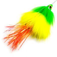 Spintube Pike Fast Sink 45g Vihreä Kelta Oranssi