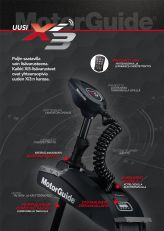 MotorGuide Xi3 FW 54'' 55lb/12V GPS Sonar