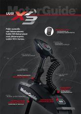 MotorGuide Xi3 FW 54'' 55lb/12V GPS